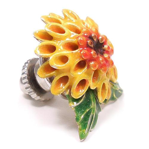 サツルノ:ピンポン菊のピンズ