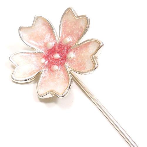 サツルノ:桜のハットピン