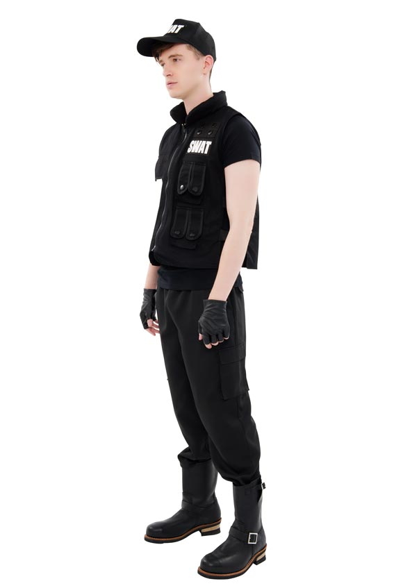 nyw m1404 swat swat costume police cop halloween fancy dress costumes halloween mens cosplay halloween mens man wedding parties entertainment party new - Swat Costumes For Halloween