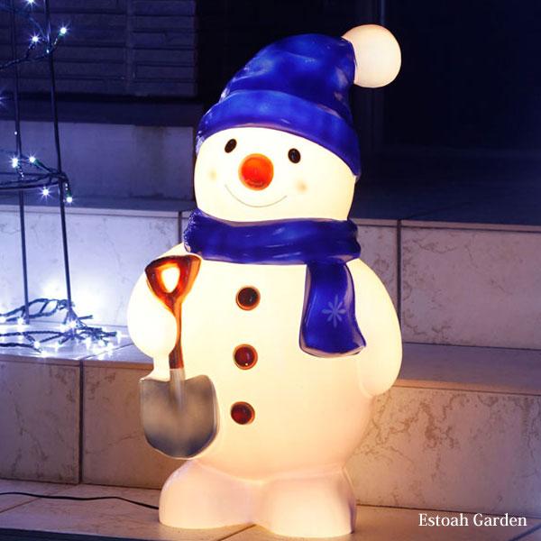 クリスマス イルミネーション led 省エネ ブローライト スノーマン