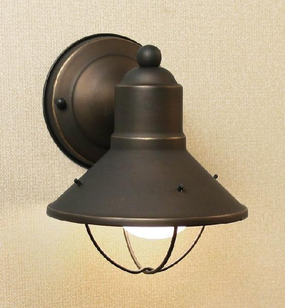 玄関 照明 ポーチ灯 ポーチライト LED電球付属  W152×H191 防雨型 照明器具