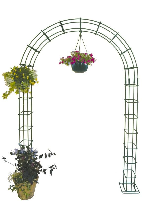 ガーデンアーチ パーゴラ アーチ ベランダ バラ 薔薇 ガーデニング 園芸用品 受注生産品 手作り ガーデンファニチャー ローズガーデン ツル植物・薔薇の誘引 特注可能