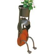 プランタースタンド フラワースタンド オブジェ アイアン アニマルポット 植木鉢 ガーデニング
