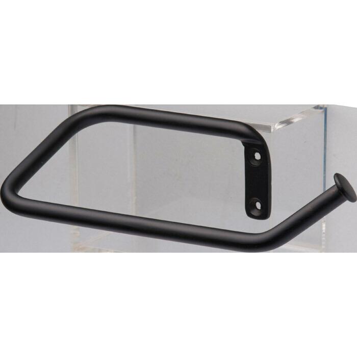 タオルハンガー タオル掛け マルチ・ハンガー MULTI HANGER(BK) 真鍮製 アクセサリー おしゃれ 壁 洗面 トイレ キッチン