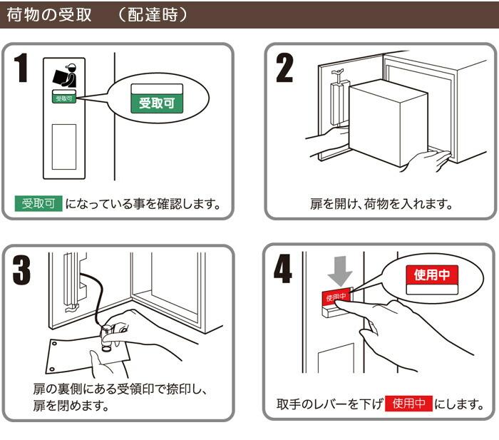 宅配ボックス 戸建 住宅用 宅配ポスト 壁掛けタイプ 左吊り元 左開き 前入れ前出し仕様 FF-3333L 代引き不可