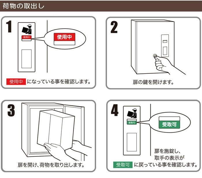 宅配ボックス 戸建 住宅用 宅配ポスト 埋め込みタイプ 左吊り元 左開き 前入れ前出し仕様 FF-2333L 代引き不可