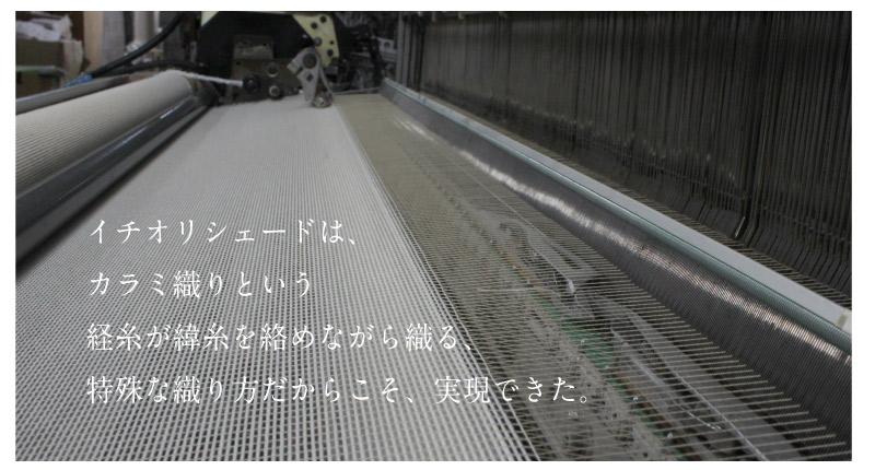 日よけ 日除け シェード オーニング スクリーン すだれ 窓 おしゃれ 高級 上質 ichiori shade マルチボーダー ミント 約195×200cm 取付金具・ロープ付き 折り畳み 折りたたみ 暑さ対策 紫外線対策