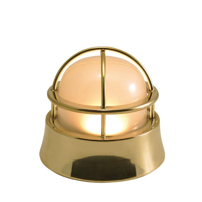 ガーデンライト 玄関照明 玄関 照明 門柱灯 門灯 外灯 屋外 LED マリンランプ BH1000 壁面 天井 床面 ウッドデッキ 門 塀 真鍮製 照明器具