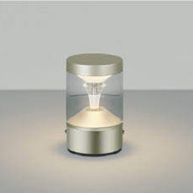 門柱灯 門灯 ガーデンライト 庭園灯 デッキライト LED一体型 白熱球60W相当 防雨型 照明器具