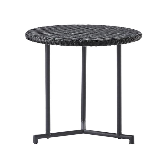 ガーデンテーブル 人工ラタン ラタン 屋外用 テーブル PATIO PETITE(パティオプティ) MAシリーズ マシリーズ MA-サイドテーブル 直径52×高さ53cm 組立品 ベランダ テラス  ガーデン家具  屋外用家具 コンパクトテーブル