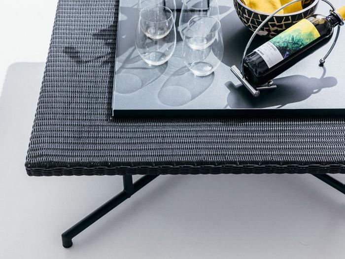 ガーデンテーブル 屋外用 PATIO PETITE(パティオプティ) MAシリーズ マシリーズ MA-ローテーブル用トレイ スチール製 W600×D600×H20mm 完成品 高級 おしゃれ