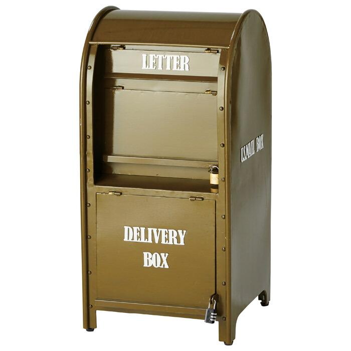 宅配メールボックス グリーン  緑 可愛い おしゃれ 店舗 ガーデンニング雑貨 お祝い 新築祝い 贈り物
