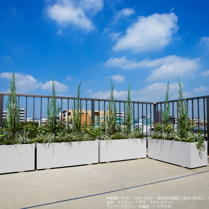 プランター 大型プランター 植木鉢 エントランス 公共施設 街に緑を