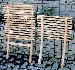 ガーデンチェア 折りたたみ 椅子 高級 チーク材 木製 ハンディ チェア 幅450×高さ750×奥行750×座面高330 チーク ベランダ 完成品 ガーデン ガーデンファニチャー テラス 庭 屋外 家具 おしゃれ 送料無料