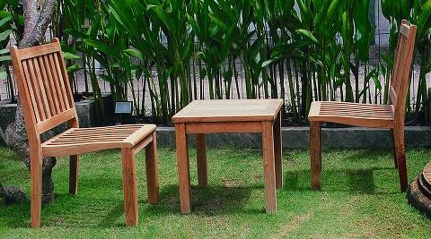 ガーデンチェア 高級 チーク材 ベランダ チェア 椅子 木製 ガーデン 家具 スタッキングチェア 幅500×高さ880×奥行580×座面高410 チーク材 完成品 屋外 テラス 庭 ガーデンファニチャー アウトドア プランター 台 おしゃれ 送料無料