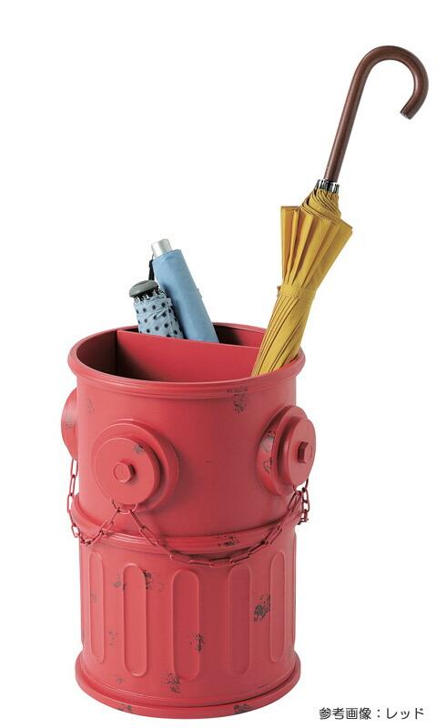傘立て おしゃれ アンアティーク レトロ ボックス アンブレラスタンド 消火栓 レッド 収納 インテリア小物 ガーデンニング雑貨