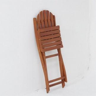 ≪2脚セット≫折りたたみ木製ガーデンチェアー 幅390mm性に優れ腐りにくいアカシア材使用♪