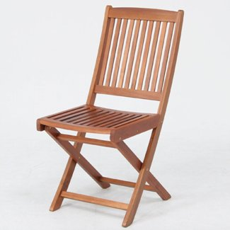≪2脚セット≫折りたたみ木製ガーデンチェアー 幅425mm 耐久性に優れ腐りにくいアカシア材使用♪