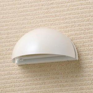 LED仕様 屋外用照明 ゲートランプ 門灯 半円型 【パールホワイト】