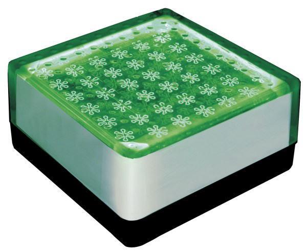 ソーラーブリック 角型 グリーン