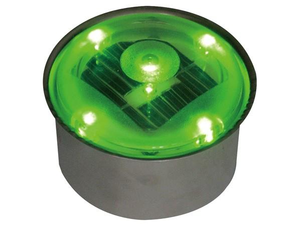 ソーラーブリック 丸型 グリーン