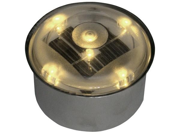 ソーラーブリック 丸型 アンバー