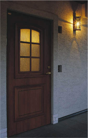 玄関照明 玄関 照明 LED 門柱灯 門灯 外灯 屋外 AU42434L アンティーク 人感センサー付 マルチタイプ 電球色 白熱灯60W相当