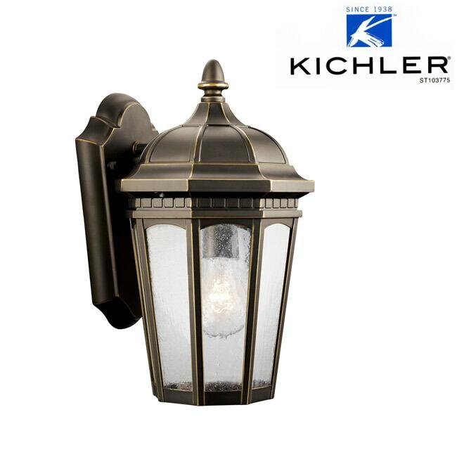 玄関照明 玄関 照明 LED 門柱灯 門灯 外灯 屋外 KIC-9032RZLDLD KICHLER キチラー ブラケット 照明器具 おしゃれ E26 LED電球