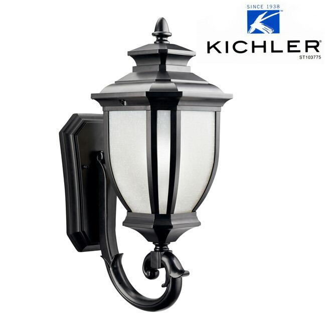 玄関照明 玄関 照明 LED 門柱灯 門灯 外灯 屋外  KIC-9041BKLD KICHLER キチラー ブラケット 照明器具 おしゃれ E26 LED電球