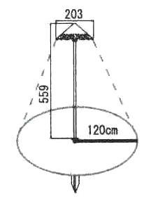 外灯 アプローチライト ガーデンライト 庭園灯 12V 屋外 照明 外灯 スタンドライト 15443ob ガーデニング 照明器具 おしゃれ