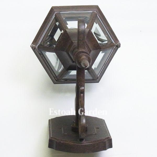 【照明器具】アンティーク照明 玄関照明 【9789tz】 上部