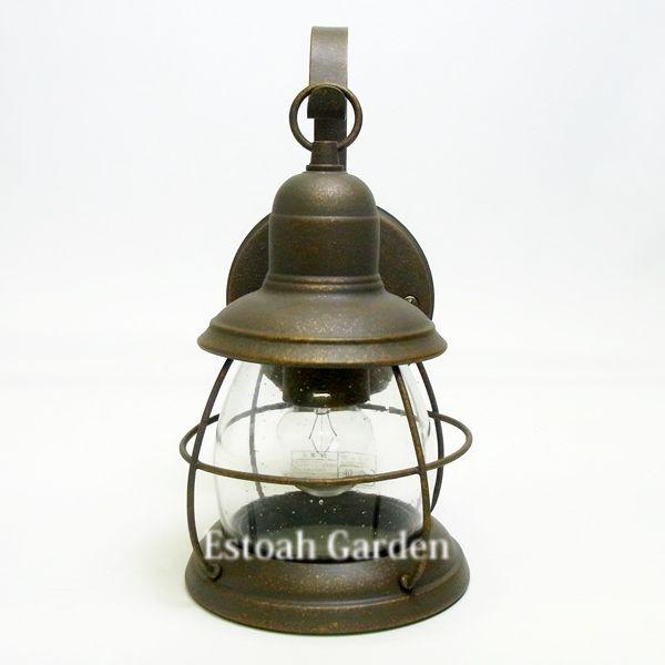 【照明器具】アンティーク照明 玄関照明 【L-5120】正面