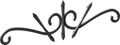 ワイド型妻飾り 35型 壁飾り アルミ鋳物 シンボル エクステリア