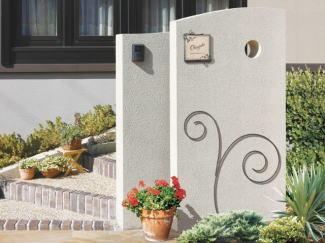 ウォールアクセサリー 壁飾り ガーデン飾り エクステリア リーフ