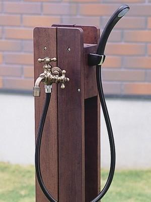 ウッドヲウォール立水栓