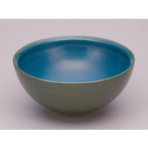 ガーデニング水鉢 ガーデンパン380 ブルー