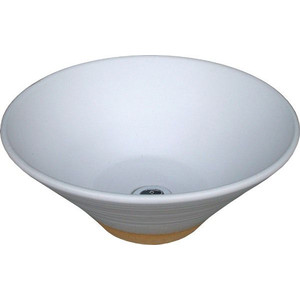 水鉢 白釉