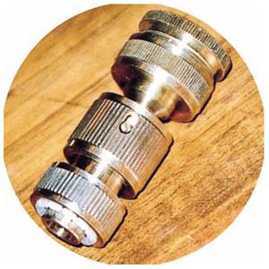 蛇口先端金具 専用ホースアダプターセット品 真鍮