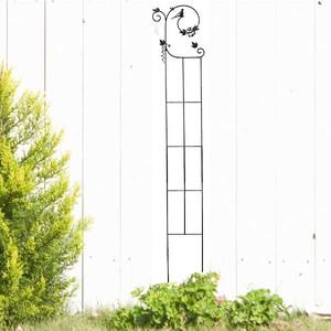 トレリス ガーデニング フェンス ガーデニング雑貨 小鳥と葉っぱのオーナメント ヘデラ