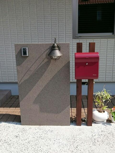 玄関照明 門柱灯 照明 9022 アンティーク風 ブラケット