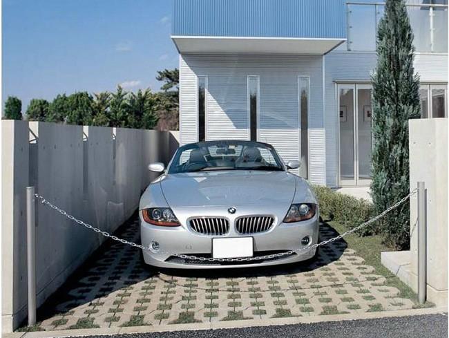 駐車場ポールチェーンポール2型