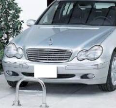 【車止め1型 】 カーストッパー 駐車場用品 (防犯配慮商品)