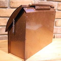 銅製ポスト3型 裏面 郵便受けポスト