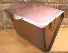 銅製ポスト7型 斜め 郵便受けポスト