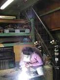 郵便受けポスト 銅製ポスト工房 作業風景3