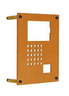 カーサー機能門柱 インターフォンカバー銅製