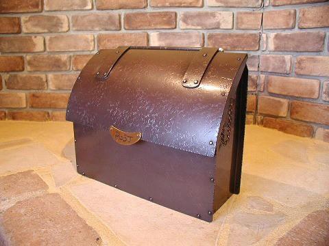 銅製ポスト2型 郵便受けポスト