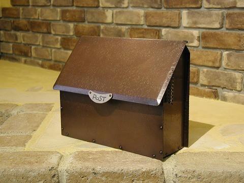 銅製ポスト8型 郵便受けポスト