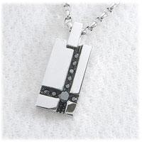 ブラックダイヤモンド0.40ct メンズ ペンダント