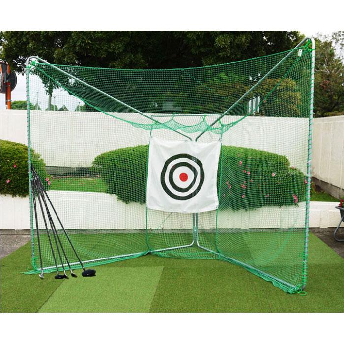 折りたたみ式で簡単移動が可能な本格的ゴルフ練習用ネット